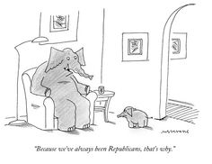 Mick Stevens's Daily Cartoon About the Republican Party : The New Yorker