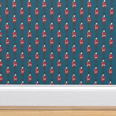 Navy Wallpaper, Perfect Wallpaper, Custom Wallpaper, Wallpaper Roll, Design 24, Spoonflower Fabric, Textured Walls, Installation Art, Creative Business
