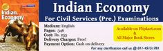 Indian Economy For Civil Services Pre Examination