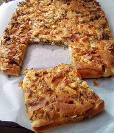 Greek Recipes, Bakery, Food And Drink, Pizza, Cookies, Desserts, School, Pie, Potato Noodles