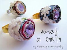 Caterina e dintorni: #Anelli di *CARTA / #Paper *#RING