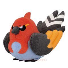 New Pokemon plush FLETCHINDER My Pokemon Collection BANPRESTO stuffed doll Japan