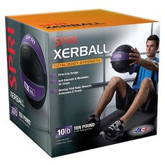 Gifts for the home fitness enthusiast: SPRI XERBALL – 10LB.