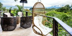 Located in an exclusive area inside Tulemar, Casa del Mar is a luxurious, 2 story, 2 bedroom retreat nestled into the jungle hillside. Vacation Resorts, Vacation Rentals, Luxury Escapes, Costa Rica, Adventure Travel, Backpacking, Tourism, Places To Visit, To Go
