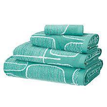 Buy MissPrint Trees Cotton Towel Online at johnlewis.com