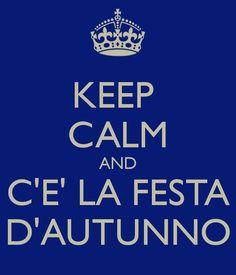 Il 30 Ottobre inizia la festa d'Autunno. E #Valdagno è pronta