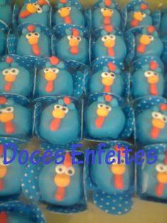 Doce Fondado da Galinha Pintadinha Encomendas:(21) 2652-6583 www.docesenfeites.blogspot.com