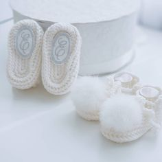 personalized baby gift, baby booties
