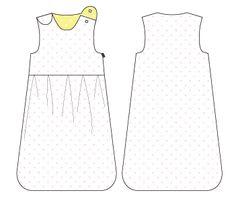 Reverie: baby/toddler sleep sack pattern