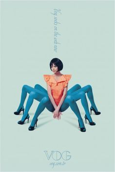 Creative Woman, Design, Graphic, Spider, and Legs image ideas & inspiration on Designspiration Photomontage, Trevor Brown, Mark Ryden, Poster S, Foto Art, Weird And Wonderful, Human Body, Collage Art, Collage Ideas
