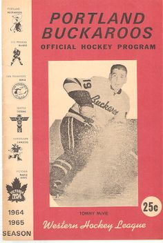 647fdc33b Victoria Maple Leafs The Portland Buckaroos were in their fifth season of  existence in