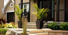 Projets d'aménagements paysagers - Lajoie Paysagistes Plants, Design, Gardens, Landscape Fabric, Landscape Planner, Projects, Plant, Design Comics