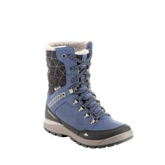 b7fee0c20c23b Chaussures de randonnée neige femme SH500 tige haute chaude imperméables -  1184178