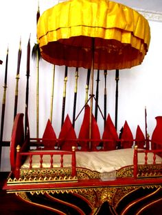 Throne - Museum - Royal Palace Complex - Phnom Penh - Cambodia