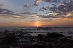 Sunrise Uvongo Ocean Photography, Landscape Art, Sunrise, Africa, Celestial, Star, Outdoor, Outdoors, Sea Photography