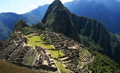 Ancient stone stairs line the Inca Trail as it leads up through cloud forests and alpine tundra, until the clouds part and the massive Puerta del Sol—Sun Gate—reveals the stunningly preserved granite city of Machu Picchu. From: Beautiful Paths of the World.  (Voyageur / Dreamstime.com)  « BACK