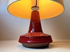 Rare Vtg Michael Andersen & Son HB stoneware table lamp danish modern Palshus era: http://www.ebay.com/itm/-/253167643848?