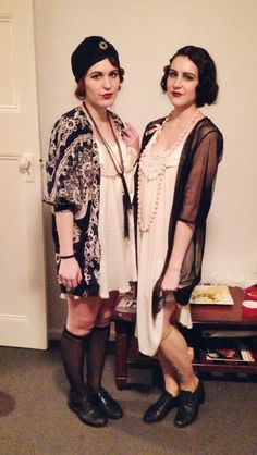 1920's costume party. Ain't no party like a Gatsby party. @Nicole Belgard