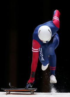 Kyle Tress of the United States | 14 Photos That Prove That Skeleton Is The Most Badass Sport At Sochi