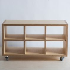 Birch Plywood storage on wheels – The Plywood Box Co.