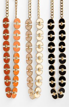 NORDSTROM HALF YEARLY ANNIVERSARY SALES EVENT 2012    Tory Burch 'Magnus' Link Necklace available at Nordstrom