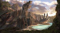 ~ Dragon Village ~ by ChristianGerth.deviantart.com on @deviantART