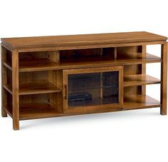 Modern Theory Media Console creates a point of architectural interest in your home.