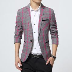 Plaid Blazer Men Cotton Suit Slim Fit | $ 95.91 | Item is FREE Shipping Worldwide! | Damialeon | Check out our website www.damialeon.com for the latest SS17 collections at the lowest prices than the high street | FREE Shipping Worldwide for all items! | Get it here http://www.damialeon.com/2016-new-arrival-plaid-blazer-men-cotton-unique-mens-blazers-suit-jacket-slim-fit-jaqueta-clothes-casual-fashion-13m0568/ |      #damialeon #latest #trending #fashion #instadaily #dress #sunglasses #blouse…