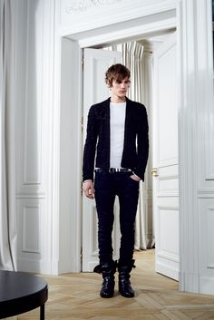 Balmain Fall 2012 Menswear Collection Slideshow on Style.com