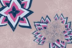 Patterns A/W : High Tec derams by Suz Sanchez, via Behance Tangle Patterns, Print Patterns, Tangled, Zentangle, Pattern Design, Behance, Aw 2014, Prints, Fashion 2014