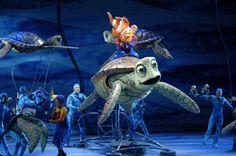 Finding Nemo: The Musical. Ya know. Just about one of the coolest things I've seen in my entire life. :)