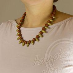 Außergewöhnliche handgefertigte und handgeschliffene #Papier #Perlen #Ketten von #KAlamea jetzt bei www.hauptstadtunikate.de