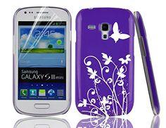 JAMMYLIZARD Custodia Rigida Viola/Argento con Fiori & Farfalle per Samsung Galaxy S3 Mini i8190. Pellicola proteggi schermo in regalo! JAMMYLIZARD http://www.amazon.it/dp/B00DEASO2Y/ref=cm_sw_r_pi_dp_.r02ub1DKPRR0