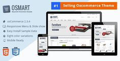 Buy OSMART – Responsive osCommerce template by dasinfomedia on ThemeForest. OSmart is compatible with Oscommerce 2.3.4 OSMART is responsive OsCommerce template packaged with quick starter sampl...