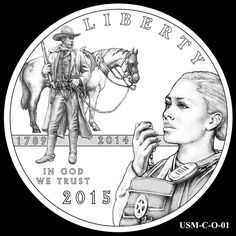 U.S. Coin Designs | 2015 US Marshals Service Commemorative Coin Design Candidate USM-C-O ...