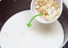 Step By Step Making Of White Hot Chocolate Recipe - Healthy Recipes Hot Chocolate Ingredients, Hot Chocolate Recipes, White Chocolate, Feta, Good Food, Healthy Recipes, How To Make, Healthy Food Recipes, Healthy Eating Recipes