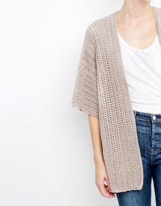 Wool and the Gang | DIY Rose cardigan