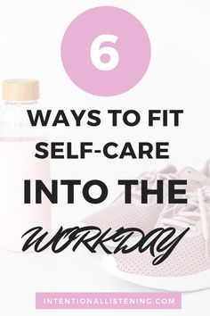 Do you struggle to find time for self-care? If the answer is yes, you're not alone! It can be tough to fit a self-care routine into a busy schedule. Check out these 6 self-care tips that can be used DURING the workday! Working Moms, Working Area, What Is Self, Self Development, Personal Development, Oragami, Self Care Routine, Feeling Overwhelmed, Guided Meditation