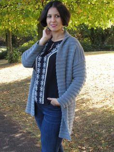 How to Make a Cardigan Look Chic | #Fashion POST by Elite Member @izabelanair  #fbloggers #winter #styleblogger