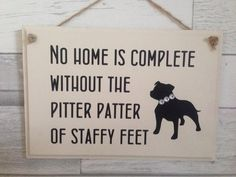 Staffy lover gift, dog lover sign, staffy quote, gift for a dog lover, painted sign, dog owner prese Dog Lover Gifts, Dog Gifts, Bullying Quotes, Dangerous Dogs, Dog Selfie, Staffordshire Bull Terrier, Gift Quotes, Vinyl Designs, Painted Signs