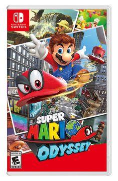 Super Mario Odyssey for Nintendo Switch - Nintendo Game Details Super Nintendo, Nintendo 2ds, Nintendo Switch Super Mario, Nintendo Switch Games, Nintendo Switch Splatoon, Super Mario Sunshine, Super Smash Bros, Super Mario Bros, Yoshi