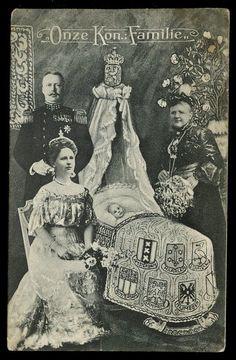 Dutch Royal Family 1909