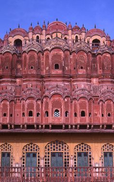Indian Architecture Jaipur by Muddy Funkster, via Flickr