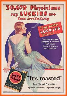 20,679 Physicians say LUCKIES are less irritating