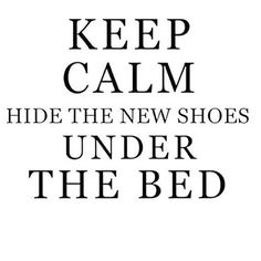 Trying to hide my sale purchases......Clever idea to hide shoes under the bed - ni vu ni connu #quoteofthedAy #buyshoes #shoequote #instaquote