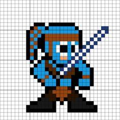 Minecraft Quilt, 8 Bit Art, Pixel Art Templates, 8 Bits, Pearler Bead Patterns, C2c Crochet, Bead Art, Perler Beads, Geeks