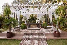 Tecidos e cortinas para a decoração do seu casamento