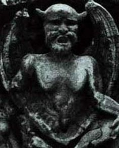 Baphomet | sculpture created by the Templar as representation of Baphomet