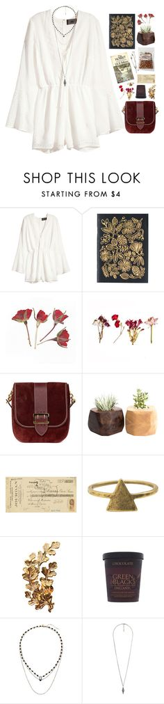 """""""Take me anywhere, I don't care//"""" by nandim ❤ liked on Polyvore featuring H&M, Burberry, Art Classics, Love Nail Tree, Joanna Laura Constantine, Vanessa Mooney and Forever 21"""