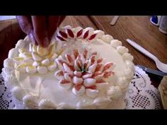 marshmallow flower cake Google Search Birthday cake ideas